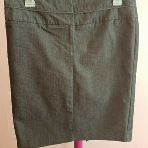 Gray Pencil Skirt Size 5/6